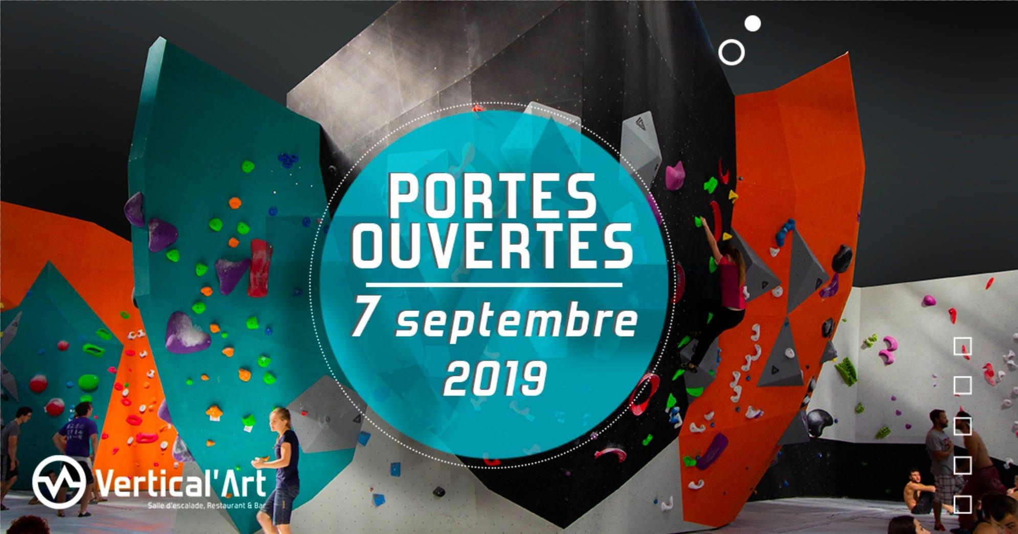 journée portes ouverte à Vertical'Art Lyon - salle d'escalade restaurant et bar indoor