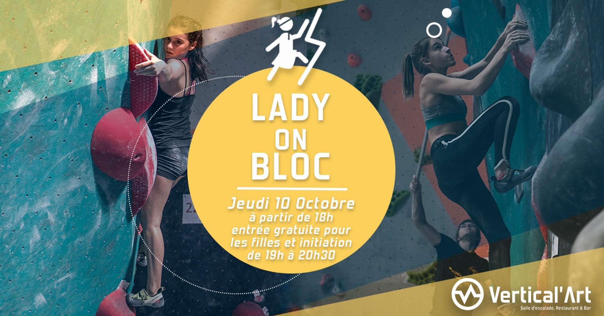 soirée fille - entrée gratuite - Vertical'Art Lyon salle d'escalade de bloc - fille - grimpe- restaurant - bar - happy hour - fête - sport