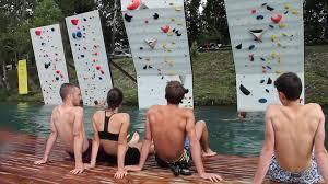 psicobloc au wam park Savoie en partenariat avec Vertical'Art Lyon